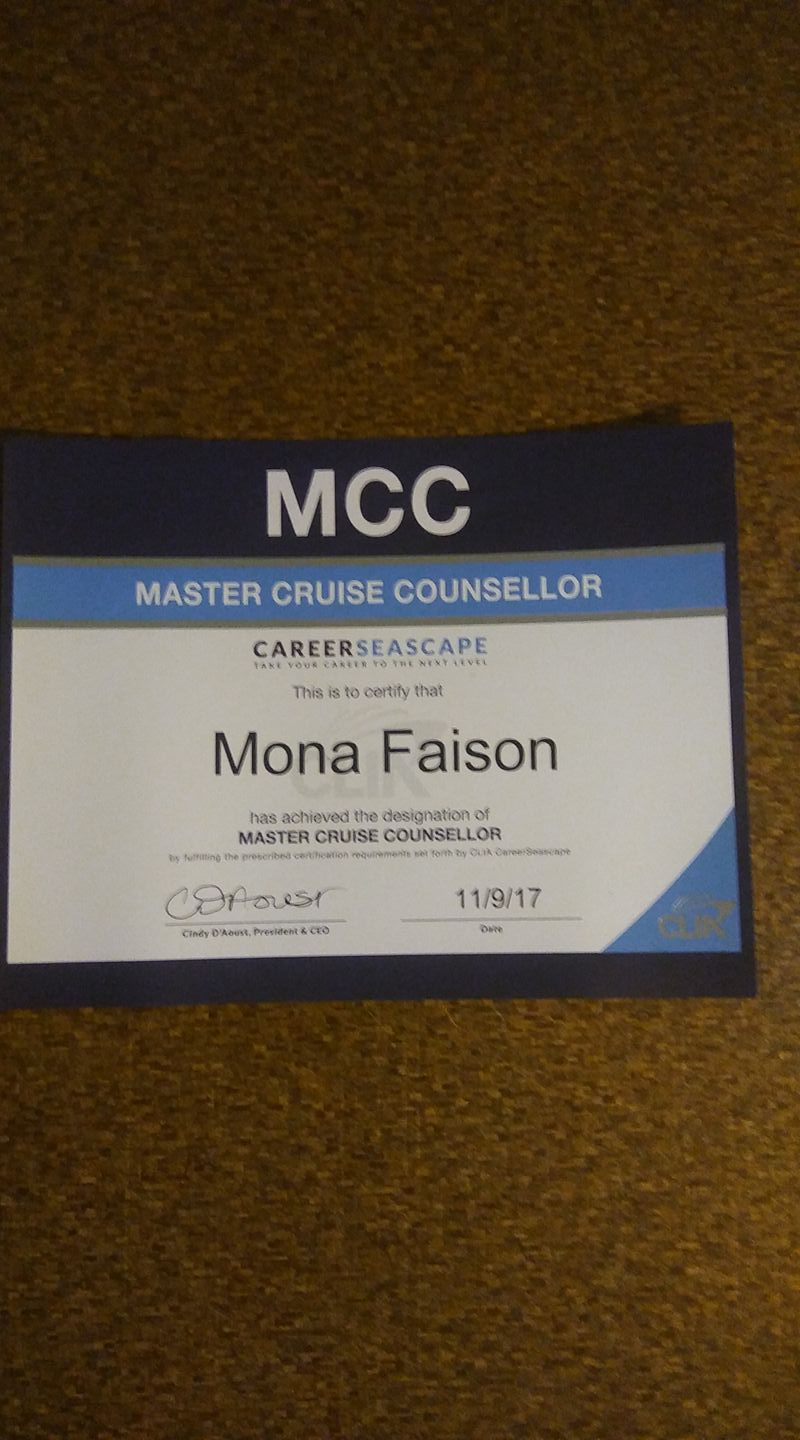 Master Cruise Counsellor
